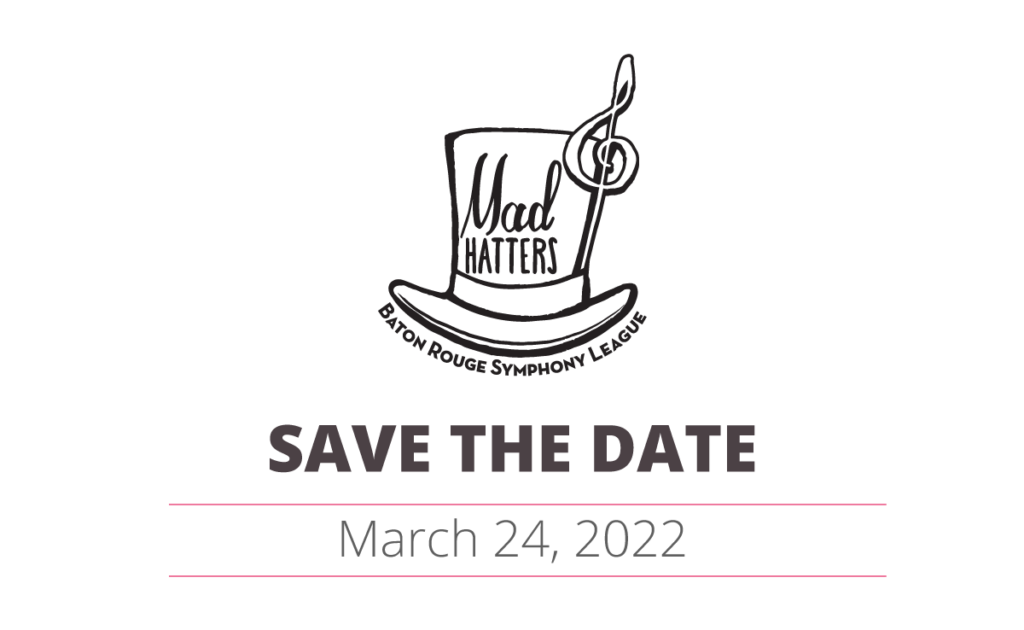Mad Hatters March 24, 2022 save the date
